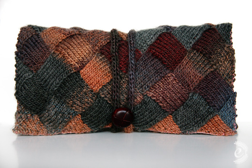 handmade knit purses