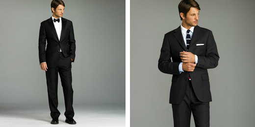 groom\'s wedding suit