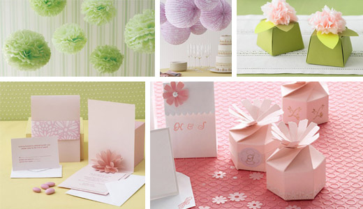 Martha Stewart Wedding Crafts! - Edyta Szyszlo: Product & Wedding ...