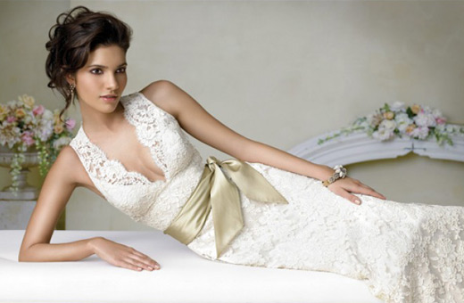 Beautiful Once Wed Designer Wedding Dresses Photo Gallery
