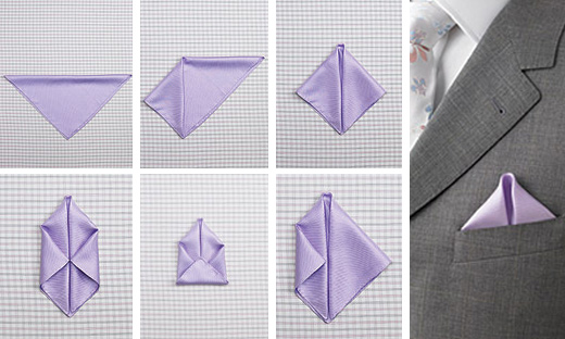How To Fold A Pocket Square!