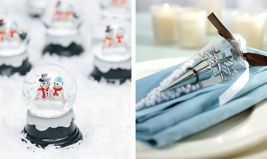 Winter Wedding Favors And Gifts