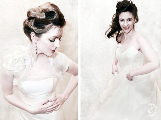 I shot Alice Padrul 39s wedding dress collection just before the holidays