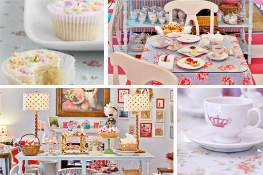 crown and crumpet tea wedding shower