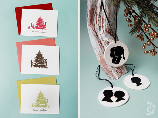 holiday product photography le papier studio