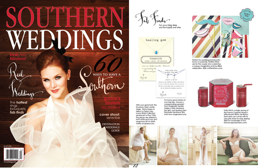 southern weddings magazine smitten sticks