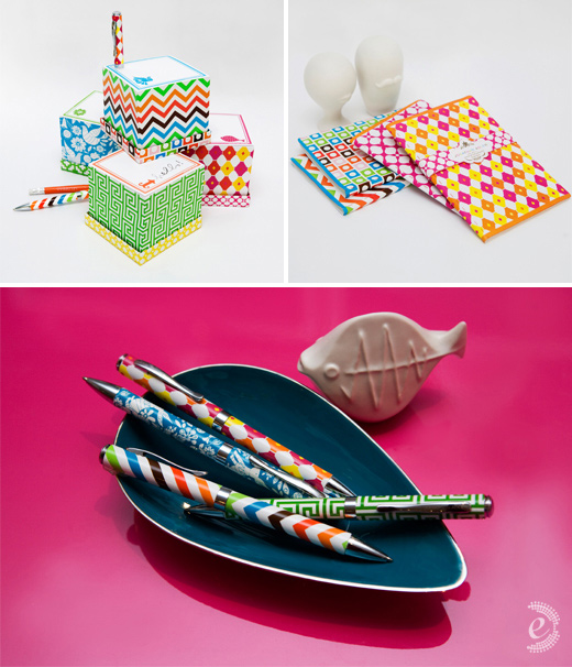 jonathan adler nifty gifties stationery gifts papers