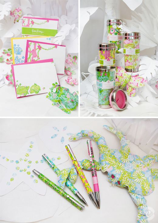 lilly pulitzer spring stationery gifts lifeguard press paper animals