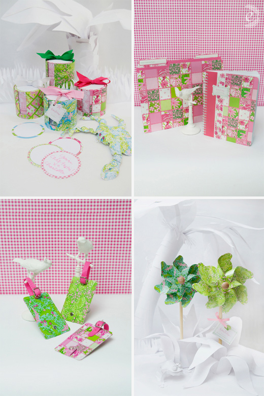 lilly pulitzer spring stationery gifts lifeguard press pinwheels