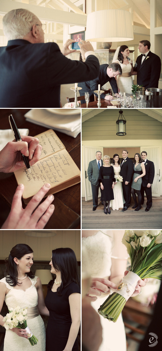 real wedding vineyard wine country family portraits