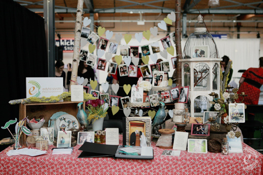 indie wed chicago vintage flea market photography booth birch