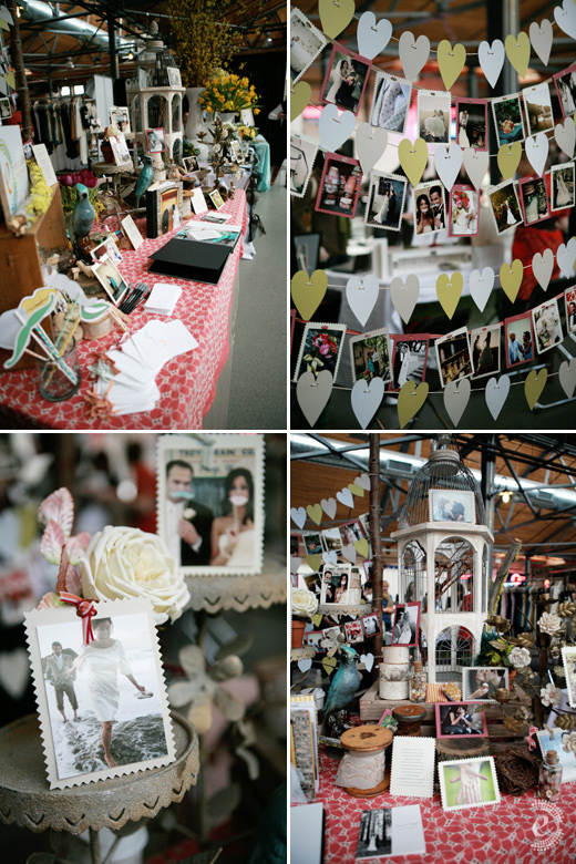 indie wed chicago vintage flea market photography booth bird cage