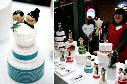 you and me the small object cake toppers indie wed chicago
