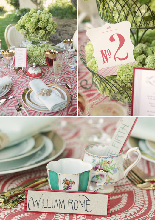 san francisco outdoor vintage glam wedding green centerpiece letterpress number