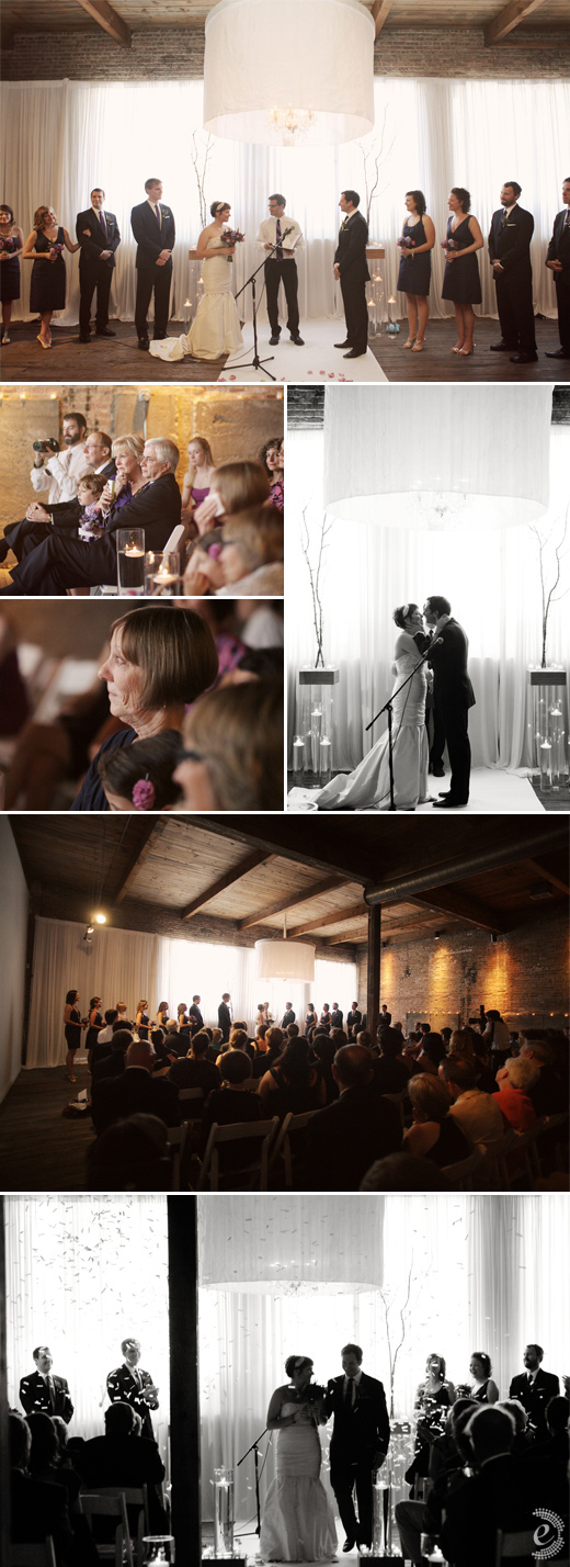 real wedding warehouse gallery 1028 ceremony