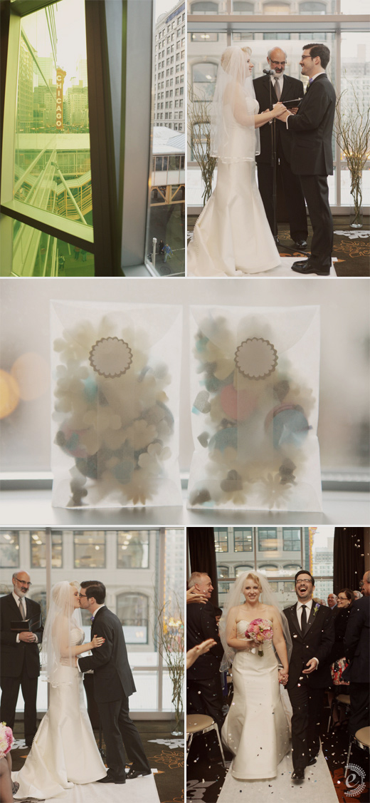 the wit wedding confetti