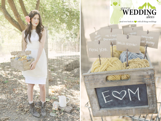 Rustic, Vintage Wedding Ideas Featured on Green Wedding Shoes ...