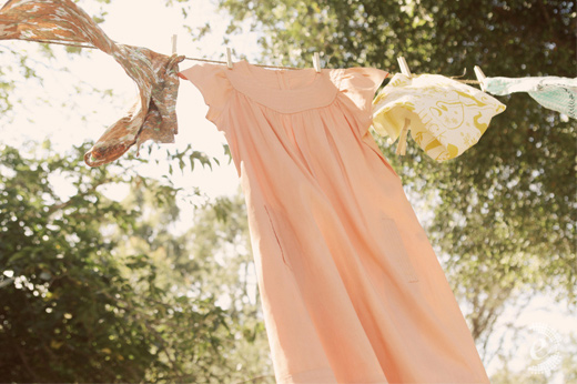 peach vintage rustic wedding