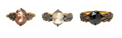 cathy waterman vintage style rings