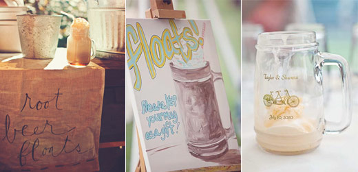 root beer float weddings