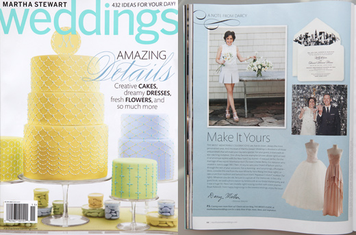 edyta martha stewart weddings press