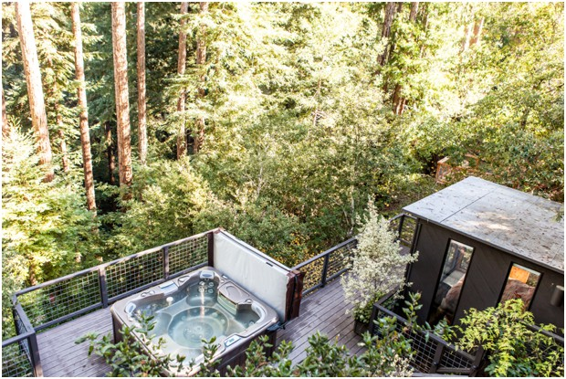 modern mountain house guerneville, ca