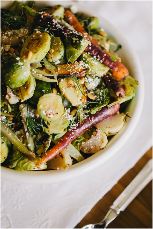 brussel sprout salad wanderlust catering