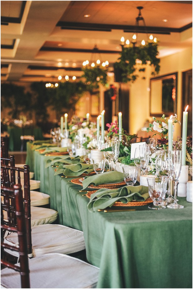 fairmont sonoma mission inn wedding boho chic