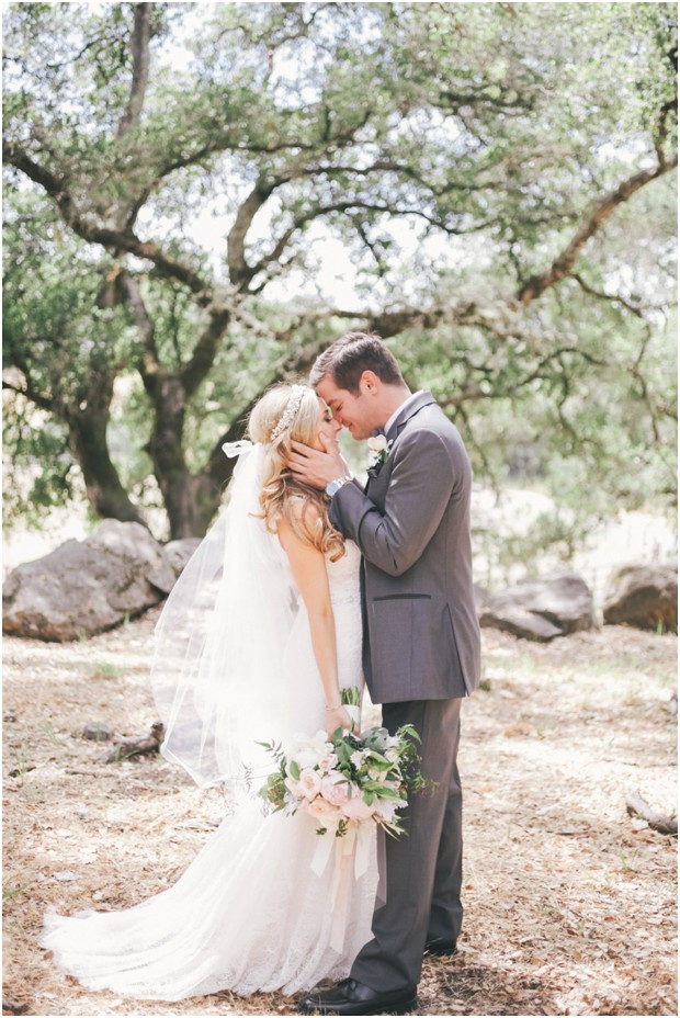 sonoma blush pink wedding chalk hill winery